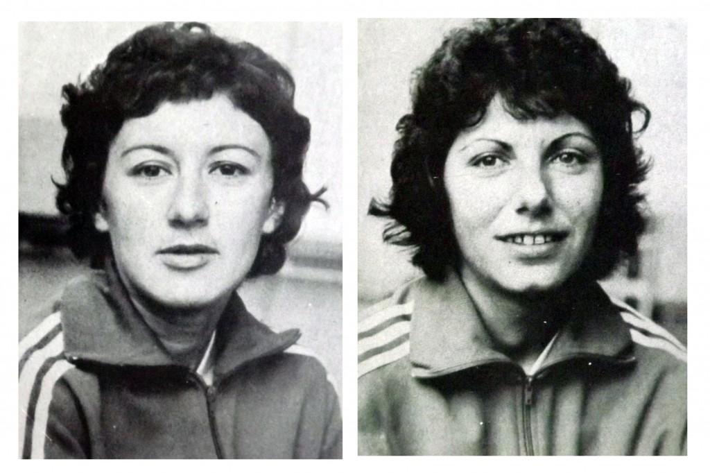 Simona Arghir Sandu (1948-1995) și Doina Băicoianu Cojocaru (1948-1996), două dintre numele uriașe ale handbalului timișorean