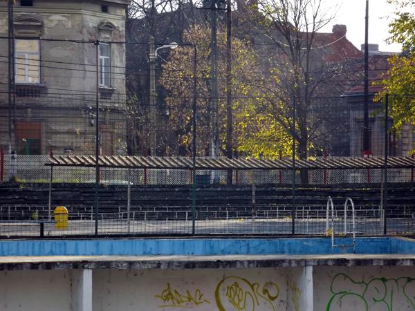 Terenul de handbal Constructorul, așa cum arată astăzi